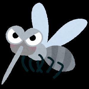 フィラリアは蚊が媒介します